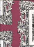 In The Picture Mirror Mirror Mulberry Wallpaper 1957/314 By Prestigious Wallcoverings